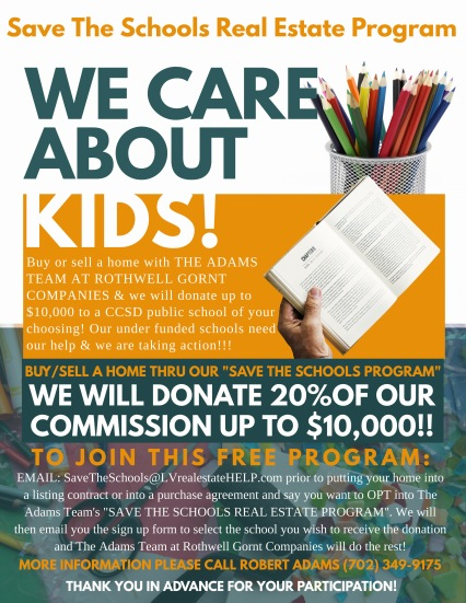 Final Flyer Front Page - save the schools program (1)