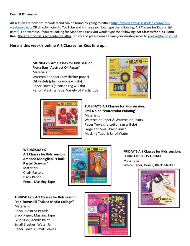 Art Classes - ClassDojo and IC Post - 3-30-20-page-001
