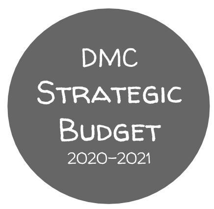 DMC Strategic Budget 2020-2021
